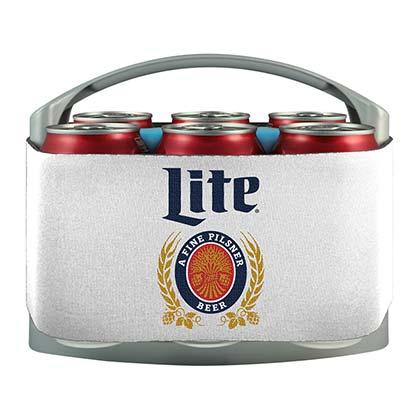 Miller Lite Brand 6 Pack Cooler