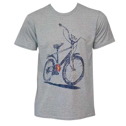Men's Miller Lite Bike Tee Shirt