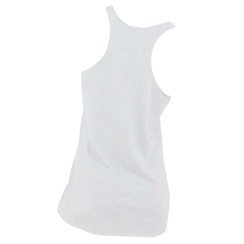 Miller Lite Simple Can Racer Back Women's White Tank Top