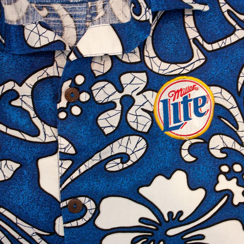 Miller Lite Hawaiian Beer Logo Shirt