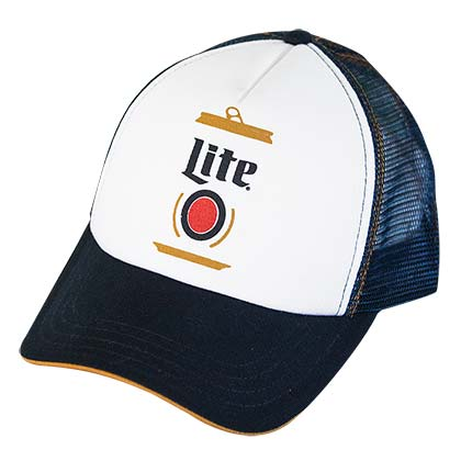 Miller Lite Two-Tone Trucker Hat