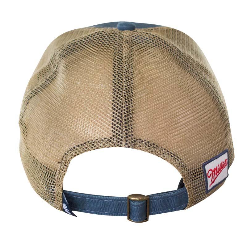 Miller Lite Navy Blue Retro Trucker Hat