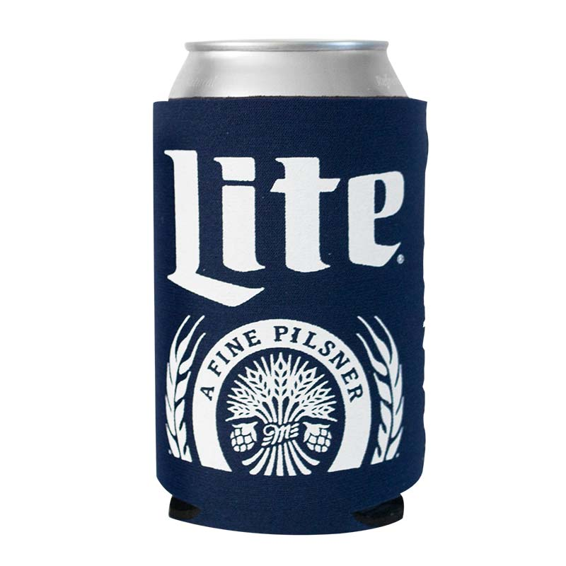 Miller Lite Foam Can Cooler