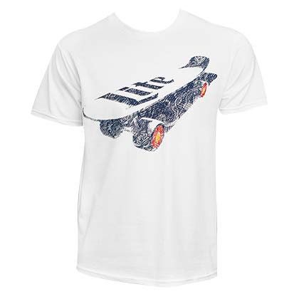 Men's Miller Lite Skateboard Tee Shirt