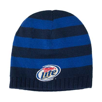 Miller Lite Reversible Winter Beanie