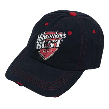Sale. Milwaukee Best Curved Bill Tattered Hat 3e3b904052ac