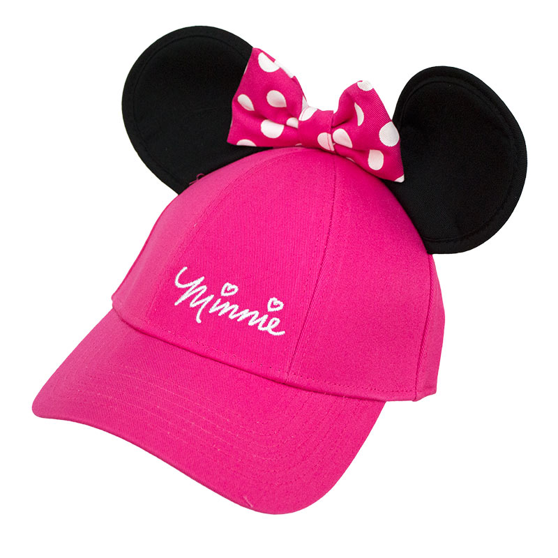 Minnie Mouse Women's Pink Ears Hat
