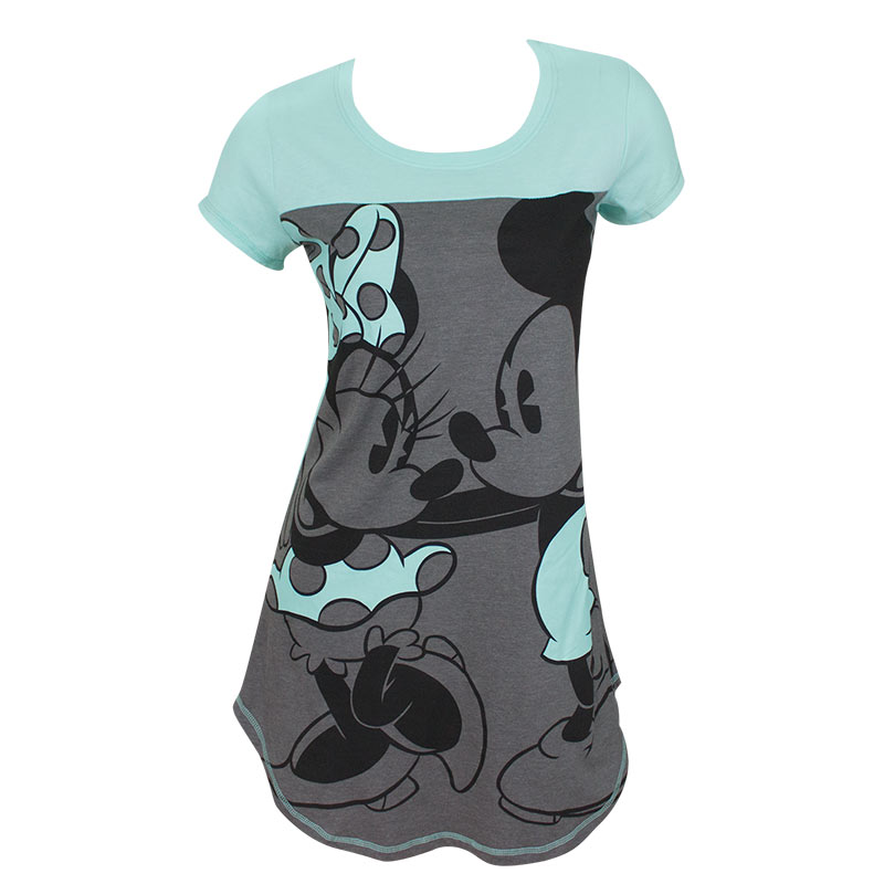 Minnie And Mickie Ladies Night Shirt