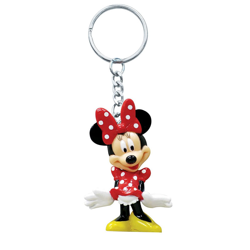 Disney Minnie Mouse Cartoon Plastic Keychain