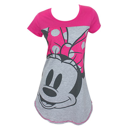 Minnie Pink Ladies Night Shirt