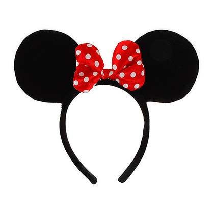 Minnie Mouse Costume Ears Headband
