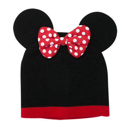Minnie Mouse Youth Knit Costume Beanie