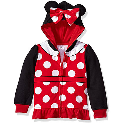 Minnie Mouse Costume Toddler Hoodie Sweatshirt