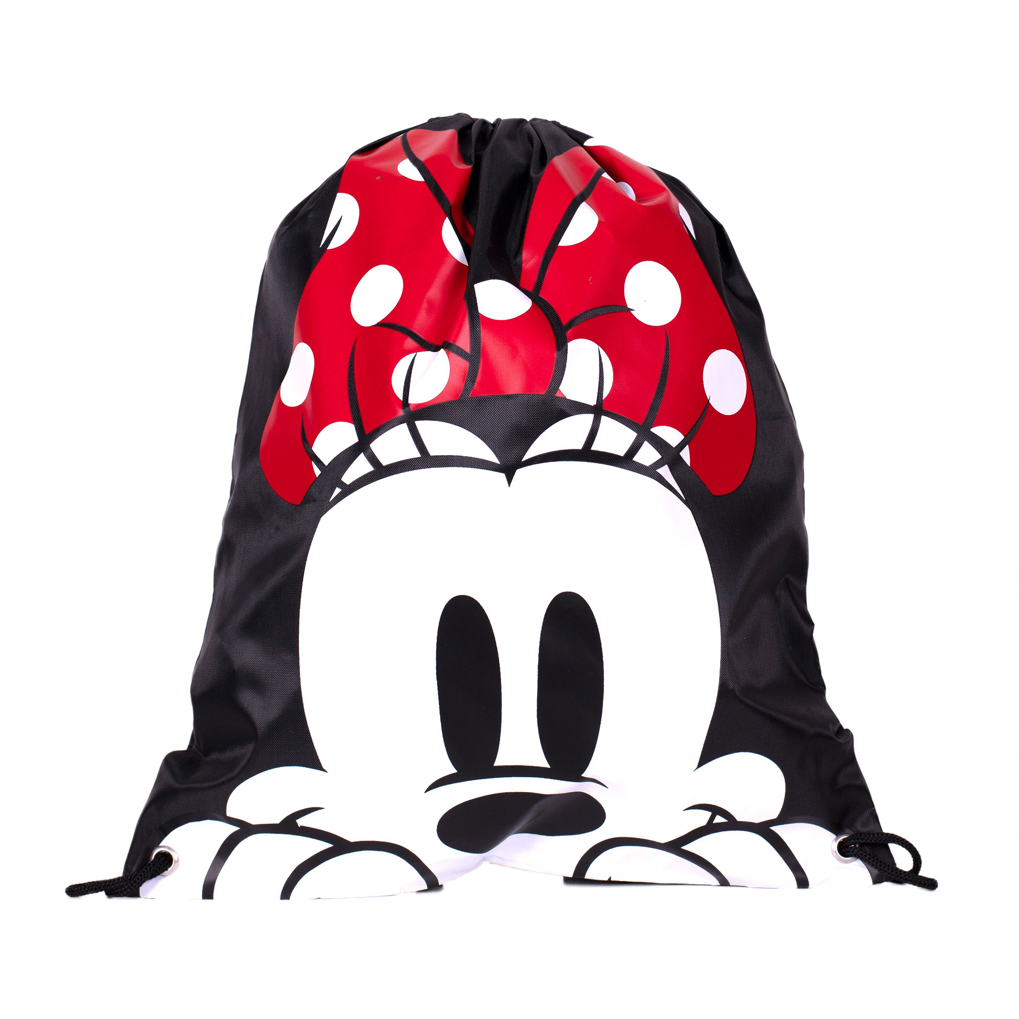 443a04452b2 Minnie Mouse Face Drawstring Bag