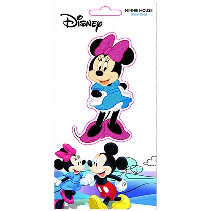 Disney Minnie Mouse Glitter Decal Sticker