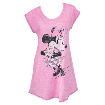 Minnie Mouse Pink Ladies Night Shirt