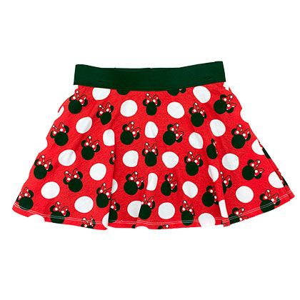 Minnie Mouse Classic Red Youth Girls 7-16 Skirt Shorts