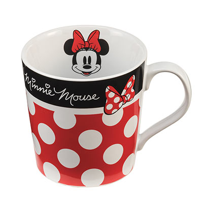Minnie Mouse Spotted Ceramic Coffee Mug
