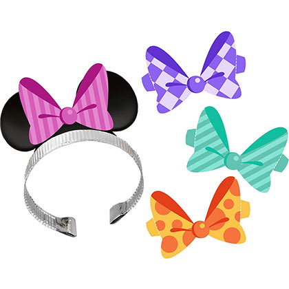 Minnie Mouse Party Headbands 4-Pack