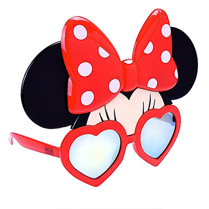 Minnie Mouse Sun-Staches Sunglasses