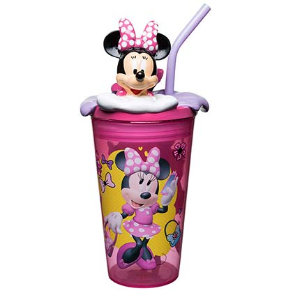 Minnie Mouse Straw Tumbler
