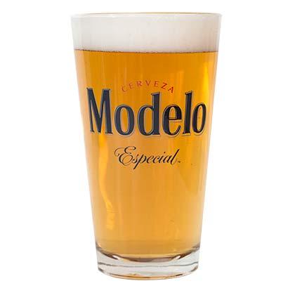 Modelo Especial Cerveza Pint Glass