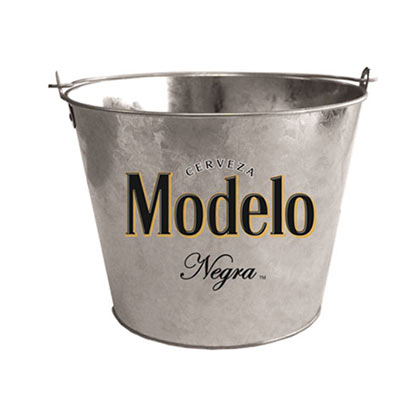 Negra Modelo Galvanized Bucket With Bottle Opener