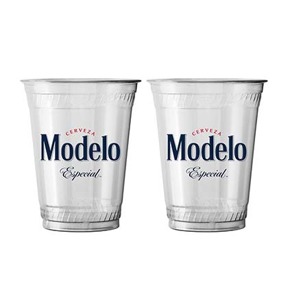 Modelo Especial 50 Pack Clear Plastic Cups