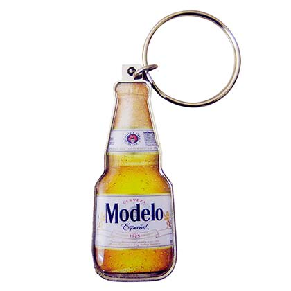 Modelo Mini Bottle Opener Keychain