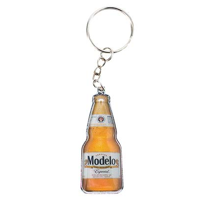 Modelo Especial Bottle Shaped Keychain Opener