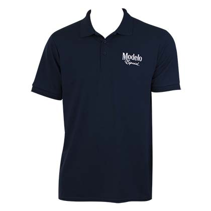 Modelo Especial Men's Navy Blue Knit Polo Shirt