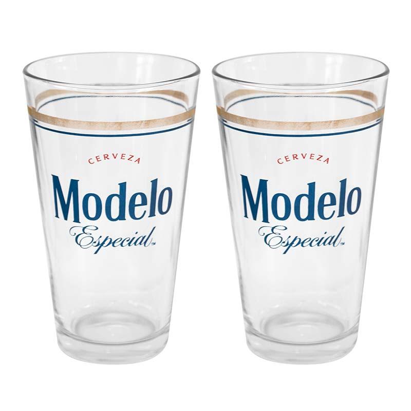 Modelo Especial Beer Logo 2 Pack Pint Glasses