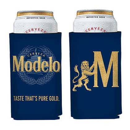 Modelo Pure Gold 16oz Can Cooler Insulator