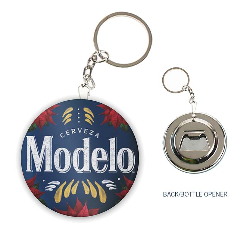 modelo holiday keychain bottle opener. Black Bedroom Furniture Sets. Home Design Ideas
