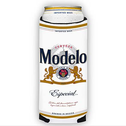 Modelo Especial White 24 Oz Beer Can Cooler