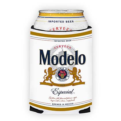 Modelo Especial White 12 Oz Beer Can Cooler