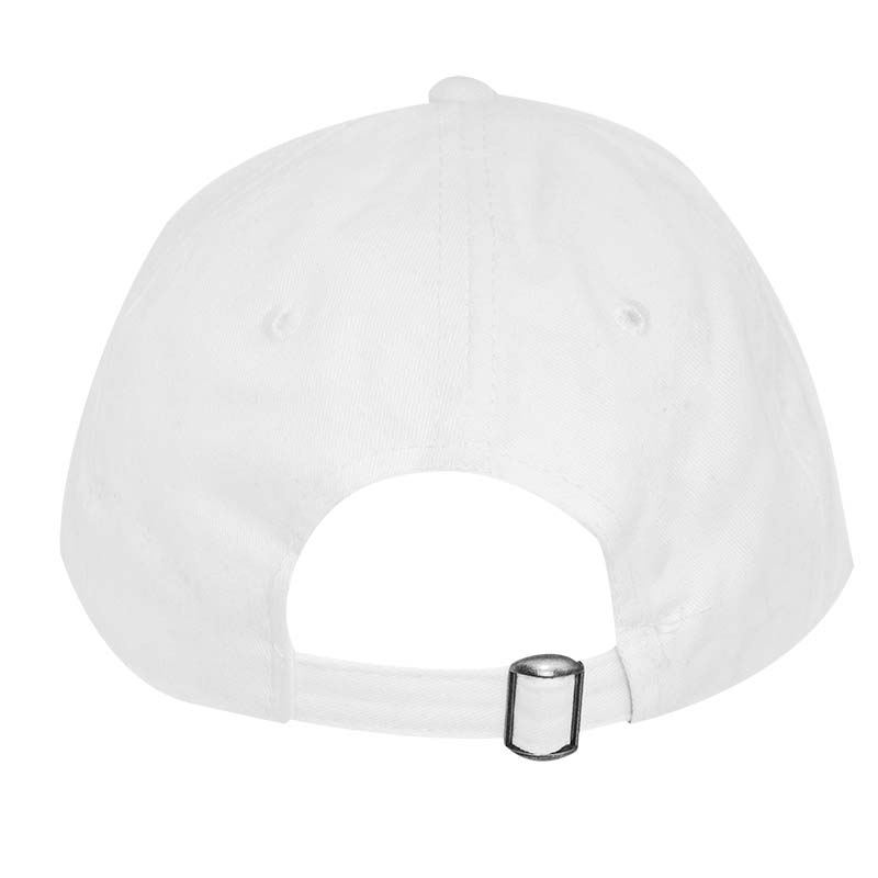 Modelo White Large Logo Strap Back Hat