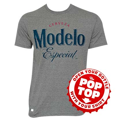 Modelo Pop Top Bottle Opener Men's T-Shirt