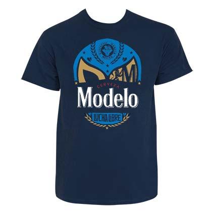 Modelo Especial Men's Navy Blue Lucha Libre T-Shirt