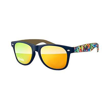 Modelo Multi-Color Reflective Sunglasses