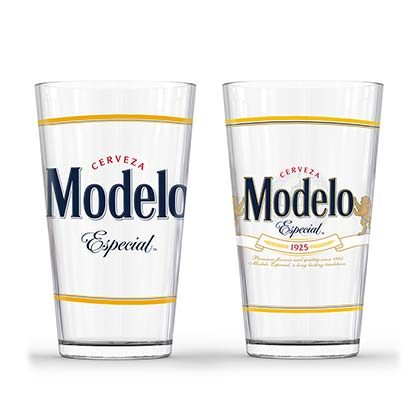 Modelo Especial Set Of Two Pint Glasses