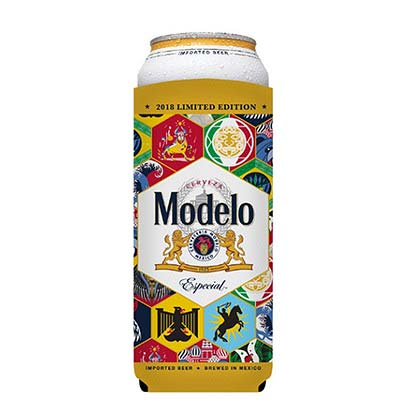 Modelo Soccer 24oz Can Cooler Insulator