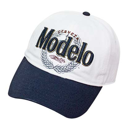 Modelo White Strap Back Hat