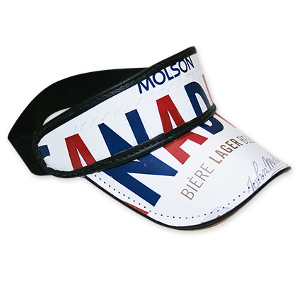 Molson Canadian Beer Box Visor Hat - FREE SHIPPING