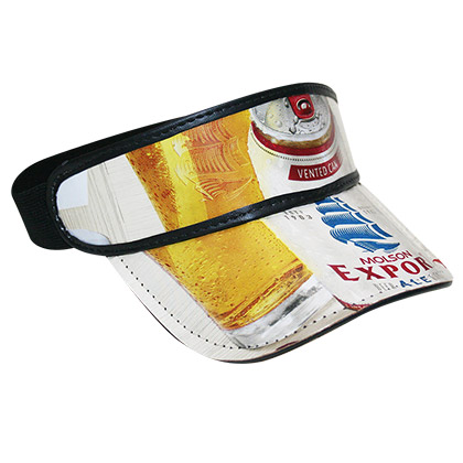 Molson Export Beer Box Visor Hat - FREE SHIPPING