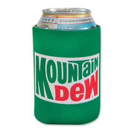 Mountain Dew Soda Can Koozie
