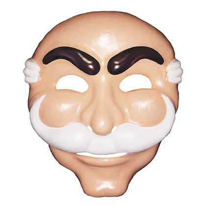 MR. Robot Plastic F Society Mask