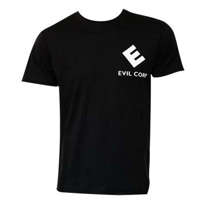 Mr. Robot Men's Black E Corp T-Shirt