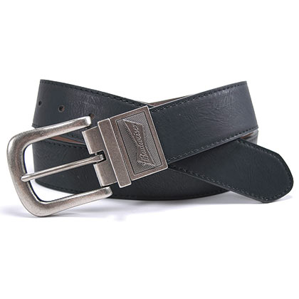 Budweiser Authentic Reversible Silver Buckle Belt