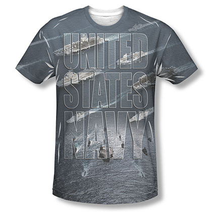 US Navy Fleet Sublimation T-Shirt